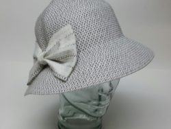 Canadian Hat salt and pepper crushable cloche.