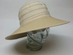 Canadian Hat natural ribbon and straw