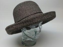 Canadian Hat straw crushable wide brim
