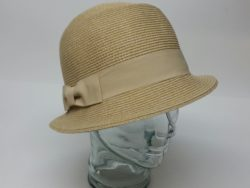 Canadian Hat straw crushable cloche