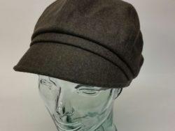 Canadian Hat wool jockey cap in olive