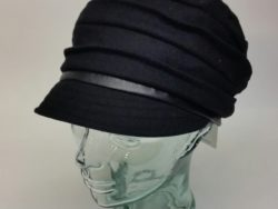 Canadian Hat pleated wool cap