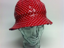 Andre red pokeadot red hat