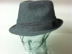 Crown Cap cotton fedora