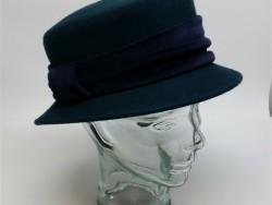 Crown cap felt adjustable ladies hat