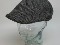 Crown cap tweed grey ivy cap