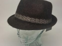 Canadian Hat wool brown fedora