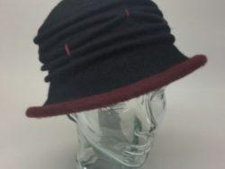 Canadian Hat wool cloche