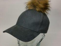 D&Y ball cap with pom pom.